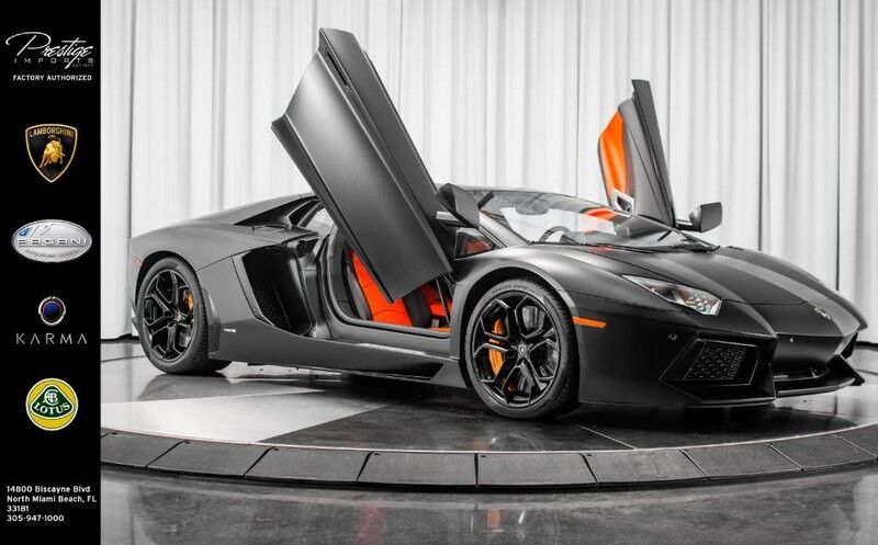 2013_Lamborghini_Aventador__ North Miami Beach FL