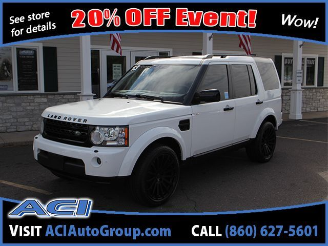 2013 Land Rover LR4 LUX East Windsor CT