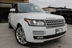 Land Rover Range Rover HSE 1 OWNER CLEAN CARFAX TEXAS BORN 2013