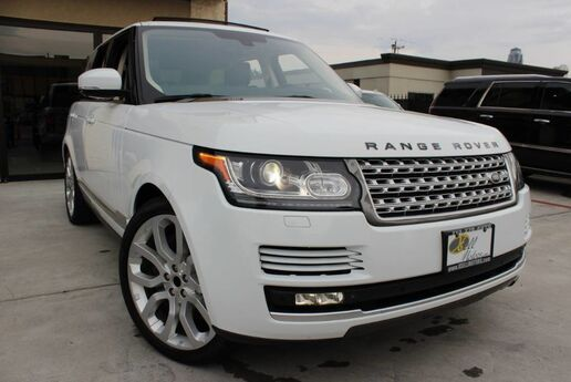 2013 Land Rover Range Rover HSE 1 OWNER CLEAN CARFAX TEXAS BORN Houston TX