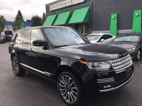 2013 Land Rover Range Rover SC Autobiography Coquitlam BC
