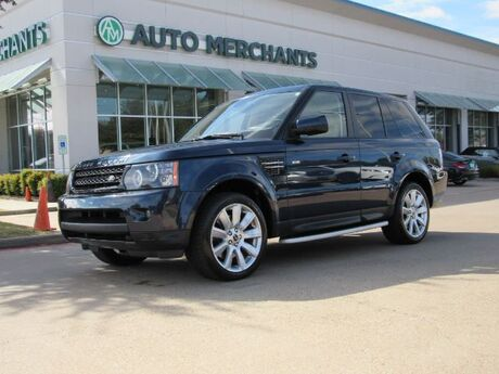 2013 Land Rover Range Rover Sport HSE, LEATHER SEATS, NAVIGATION, SUNROOF, HEATED FRONT AND REAR SEATS, POWER LIFTGATE Plano TX