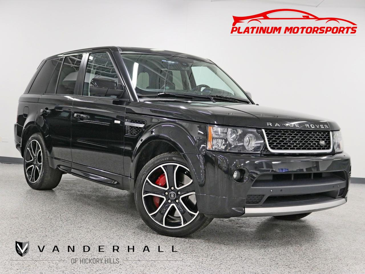 2013 Land Rover Range Rover Sport SC 2 Owner Nav Back Up Roof Black Piano Wood Clean Fully Loaded Hickory Hills IL
