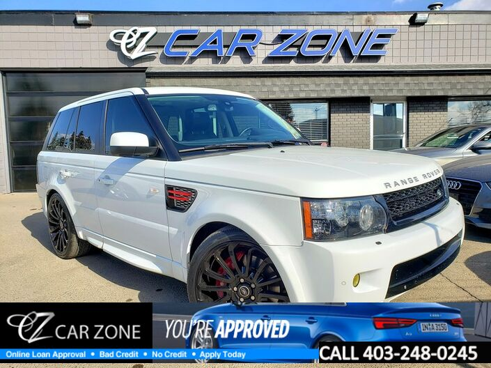 2013 Land Rover Range Rover Sport SC Limited Edition DUAL DVDS new 22s Calgary AB