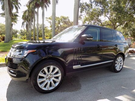 Land Rover Range Rover Supercharged 2013