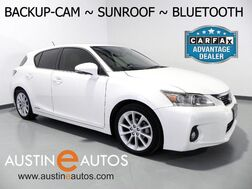 2013_Lexus_CT 200h Hybrid_*BACKUP-CAMERA, MOONROOF, HEATED SEATS, PUSH BUTTON START, ALLOY WHEELS, BLUETOOTH PHONE & AUDIO_ Round Rock TX
