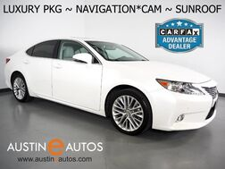 2013_Lexus_ES 350_*LUXURY PKG, NAVIGATION, BLIND SPOT ALERT, BACKUP-CAMERA, MOONROOF, LEATHER, CLIMATE SEATS, HID HEADLAMPS, INTUITIVE PARK ASSIST, BLUETOOTH_ Round Rock TX