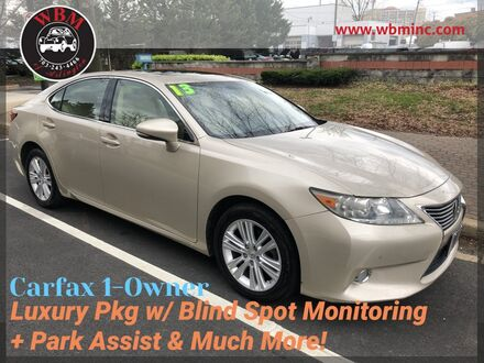 2013_Lexus_ES 350_w/ Luxury Package_ Arlington VA