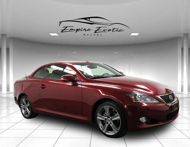 2013 Lexus IS 250C  Addison TX