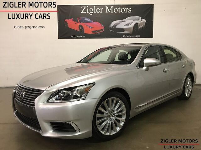 2013 Lexus LS 460 One Owner Clean Carfax Low miles! Blind Spot 19 Inch wheels Luxury Pkg Addison TX