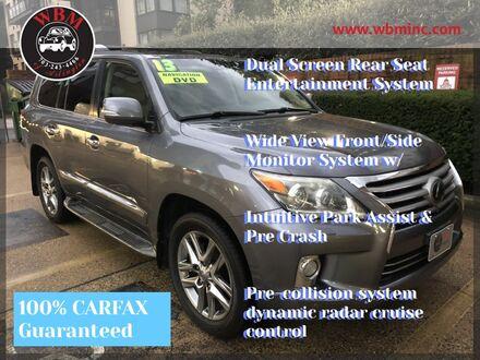 2013_Lexus_LX 570_4WD w/ 3rd Row & Luxury Pkg_ Arlington VA