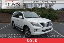 Lexus LX 570 W/Luxury Package  2013