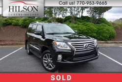 Lexus LX570 Luxury w/Rear Entertainment  2013