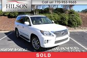 2013 Lexus LX570 w/Luxury Package