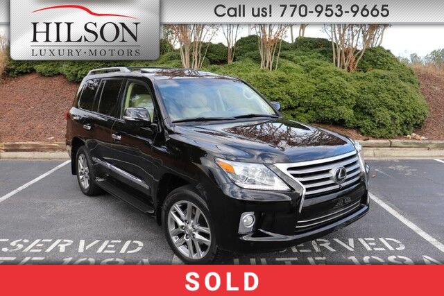 2013 Lexus LX570 w/Luxury Package  Marietta GA