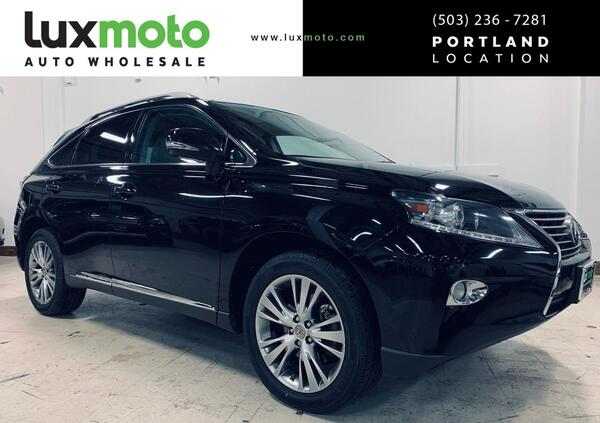2013_Lexus_RX 350_AWD Navigation Comfort Package Blind Spot_ Portland OR