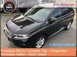 2013 Lexus RX 350 AWD w/ Premium Package