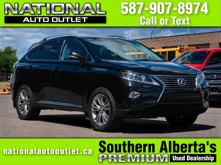 2013 Lexus RX 350 F SPORT -OWN OWNER - CLEAN CAR FAX F Sport Lethbridge AB