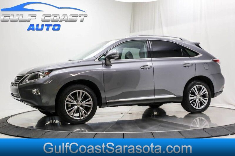 2013 Lexus RX 350 LEATHER SUNROOF LOW MILES WHEELS FL SUV CLEAN !!