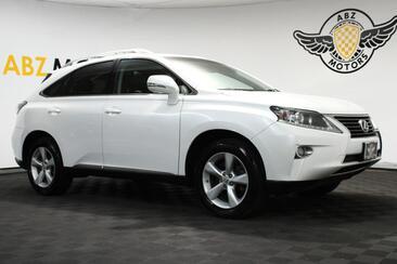 2013_Lexus_RX 350_Premium Pkg,Leather,Sunroof,Push Start_ Houston TX