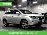 2013 Lexus RX 450h Hybrid AWD Nav Blind Spot Assist Back-Up Cam