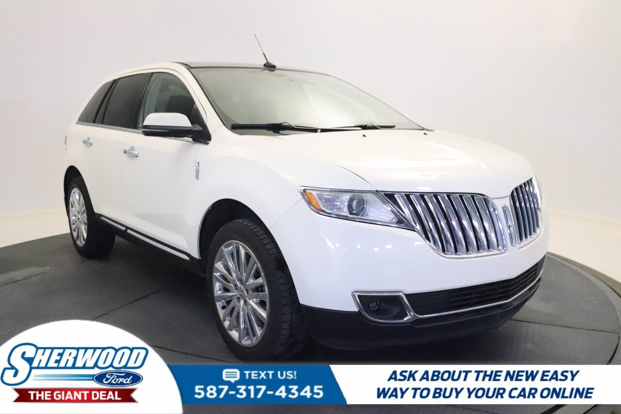 2013 Lincoln MKX 4DR AWD Sherwood Park AB