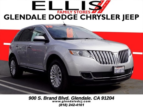 2013 Lincoln MKX Base Glendale CA