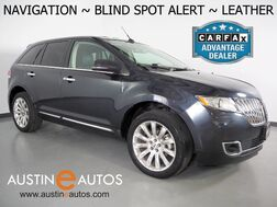 2013_Lincoln_MKX_*NAVIGATION, BLIND SPOT ALERT, TOUCH SCREEN, LEATHER, CLIMATE SEATS, THX SURROUND AUDIO, HID HEADLAMPS, 20 INCH WHEELS, BLUETOOTH_ Round Rock TX