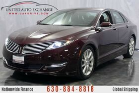 2013_Lincoln_MKZ_2013 Lincoln MKZ 3.7L V6 Engine AWD w/ Navigation, Bluetooth Wireless Tech, Sunroof, Heated & Ventilated Leather Seats, USB/AUX/SD Card Support_ Addison IL