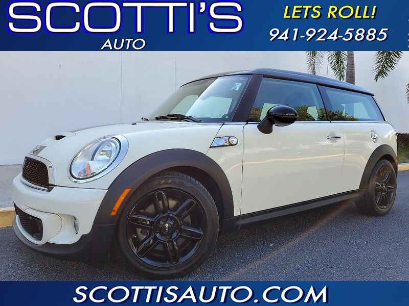2013 MINI Cooper Clubman S~TURBO CHARGED~ ONLY 55K MILES~ WELL SERVICED!~ GREAT COLORS~ ONLINE FINANCE AVAILABLE! EASY BUYING PROCESS! Sarasota FL