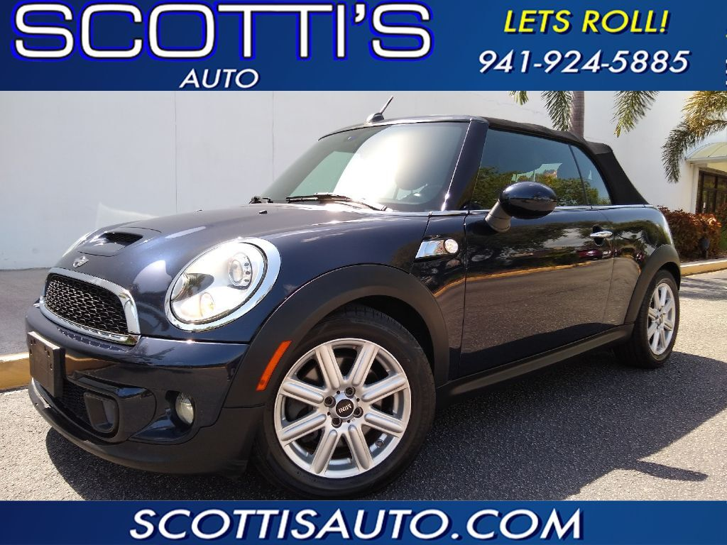 2013 MINI Cooper Convertible S-CONVERTIBLE~ AUTOMATIC~ WELL SERVICED~ EASY ONLINE FINANCE AND SHIPPING AVAILABLE! Sarasota FL