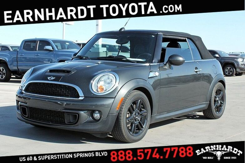 2013 MINI Cooper Convertible S Mesa AZ
