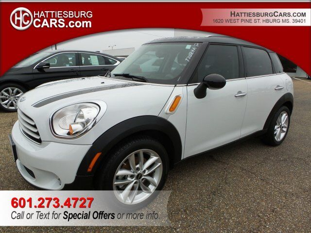 2013 Mini Cooper Countryman S Hattiesburg Ms 22516538