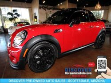 MINI Cooper Coupe S Turbocharged 2D Scottsdale AZ