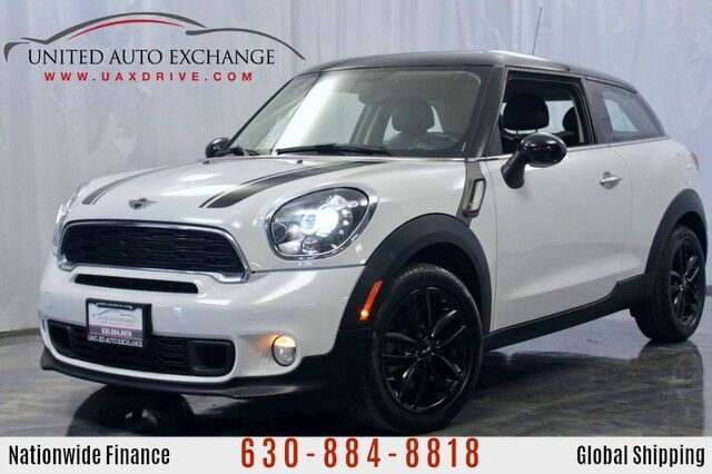 2013 MINI Cooper Paceman 1.6L Twin Turbo Engine FWD Coupe S w/ Panoramic Sunroof, Bluetooth, USB & AUX input, Heated Leather Seats Addison IL