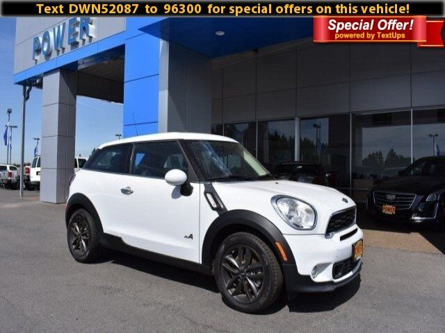 2013 MINI Cooper Paceman S ALL4 Corvallis OR