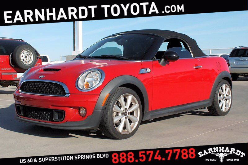 2013 MINI Cooper Roadster S Convertible *Fun to Drive!* Mesa AZ