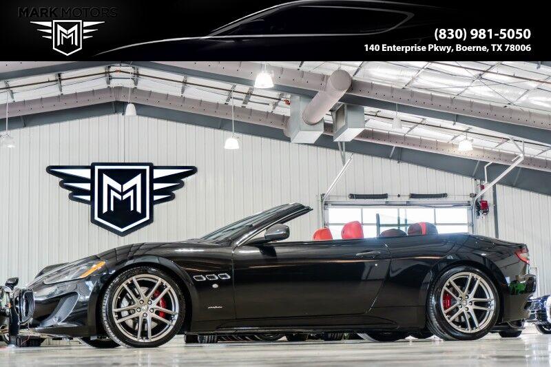 2013_Maserati_GranTurismo Convertible_Sport_ Boerne TX