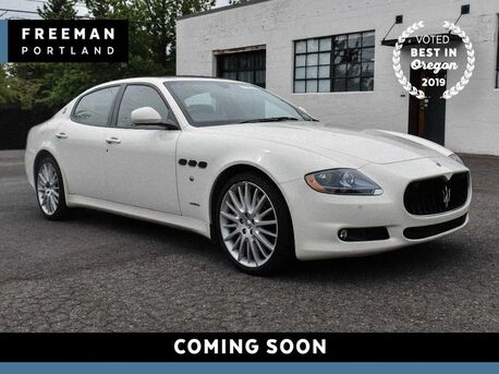 2013_Maserati_Quattroporte_S 1 Owner 45k Miles Navigation Heated Seats_ Portland OR