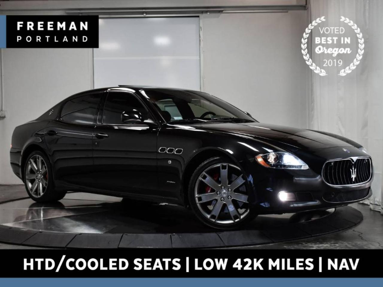 2013 Maserati Quattroporte S Navigation Heated & Cooled Seats 425 HP Portland OR