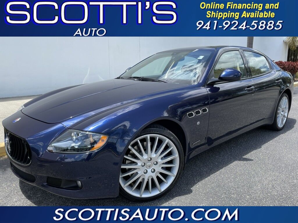2013 Maserati Quattroporte S~ ONLY 20K MILES~ CLEAN CARFAX~ EXCELLENT CONDITION~ 2-OWNER~ FL CAR~ MINT~ WE OFFER ONLINE FINANCE AND SHIPPING! APPLY TODAY! Sarasota FL