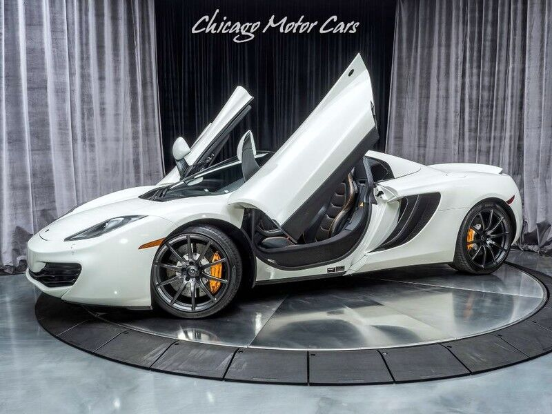 2013_McLaren_MP4-12C_Spider Convertible_ Chicago IL
