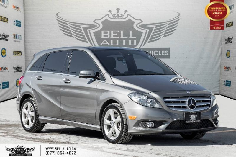 2013 Mercedes-Benz B-Class B 250 Sports Tourer, NAVI, REAR CAM, PANO ROOF, B SPOT Toronto ON