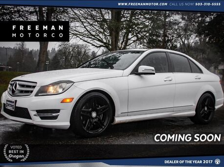 2013_Mercedes-Benz_C 300_4MATIC AMG Sport Blind Spot Asst 28k Miles_ Portland OR