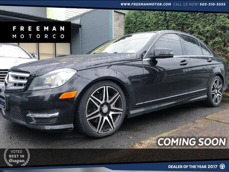 2013_Mercedes-Benz_C 300_4MATIC Sport Back-Up Cam Heated Seats Pano Roof_ Portland OR