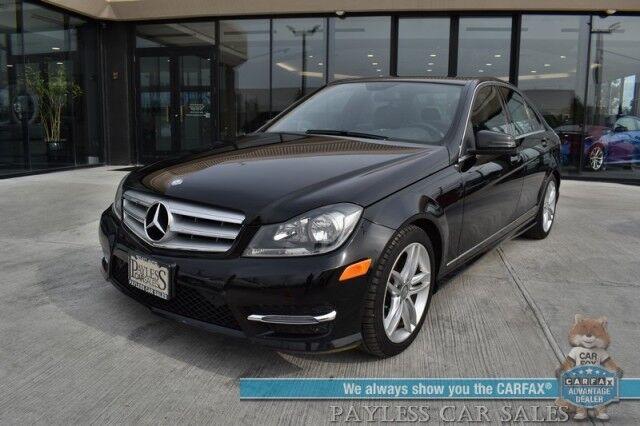 2013 Mercedes-Benz C 300 Sport / AWD / Heated Leather Seats / Navigation / Harman Kardon Speakers / Sunroof / Bluetooth / Cruise Control / 28 MPG Anchorage AK