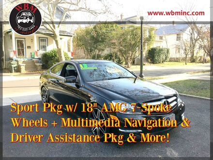 2013_Mercedes-Benz_C 350_4MATIC Coupe_ Arlington VA