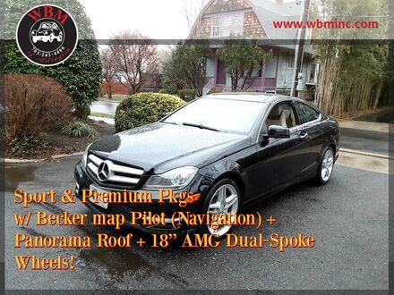 2013_Mercedes-Benz_C 350_Sport_ Arlington VA