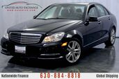 2013 Mercedes-Benz C-Class 3.5L V6 Engine AWD 4matic C 300 Luxury Package w/ Navigation, Sunroof, Heated Leather Seats, Harman Kardon Premium Sound System, Bluetooth Connectivity, USB & AUX Input