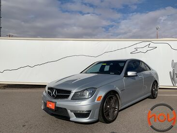 2013 Mercedes-Benz C-Class 4dr Sdn C 63 AMG RWD